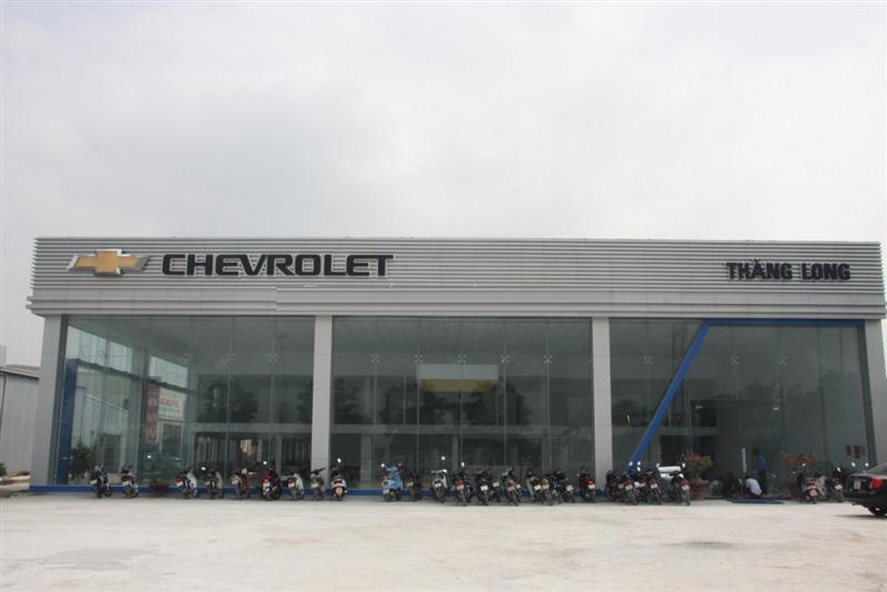 dai ly oto Chevrolet Thăng Long