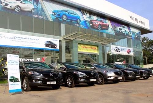 dai ly oto Mazda Phú Mỹ Hưng