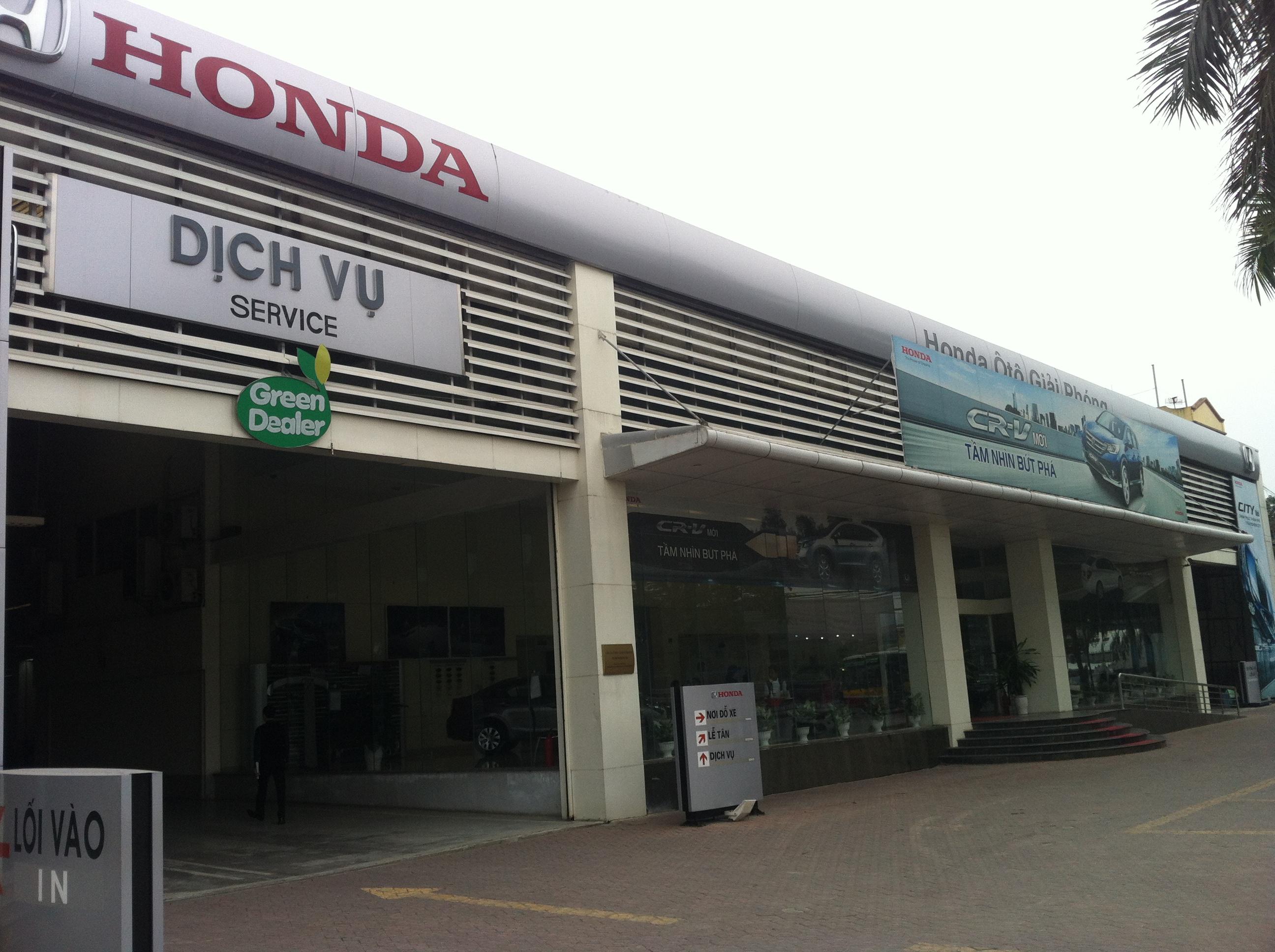 dai ly oto Honda Giải Phóng