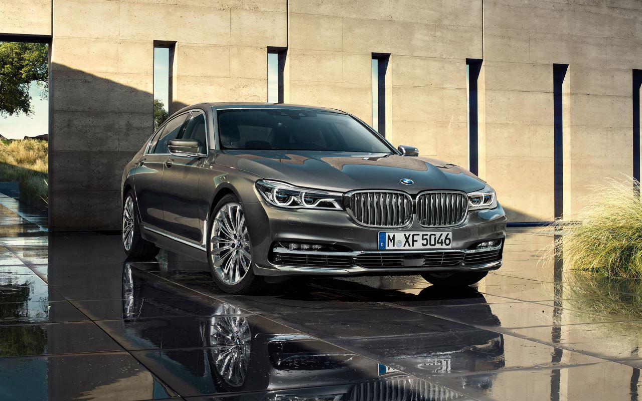 BMW 7 Series 750Li model 2016