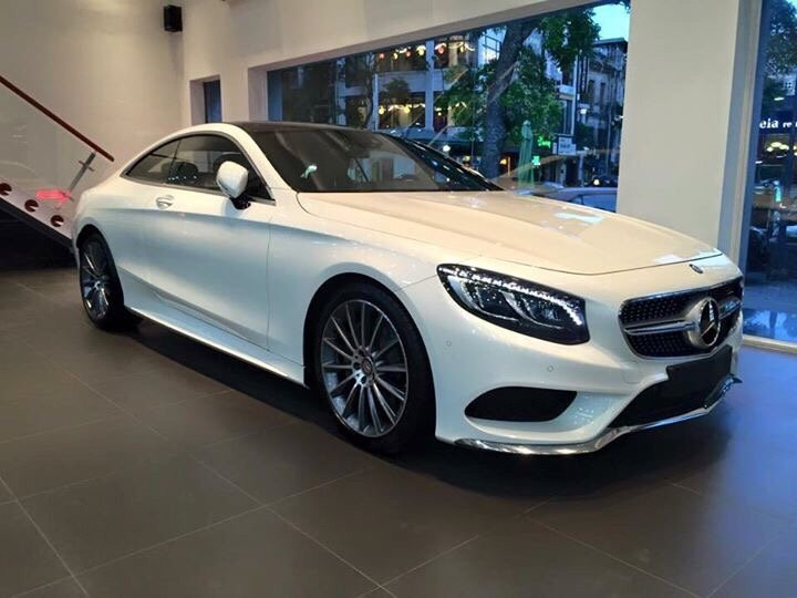 Mercedes-Benz S-Class S500 Coupe 2015