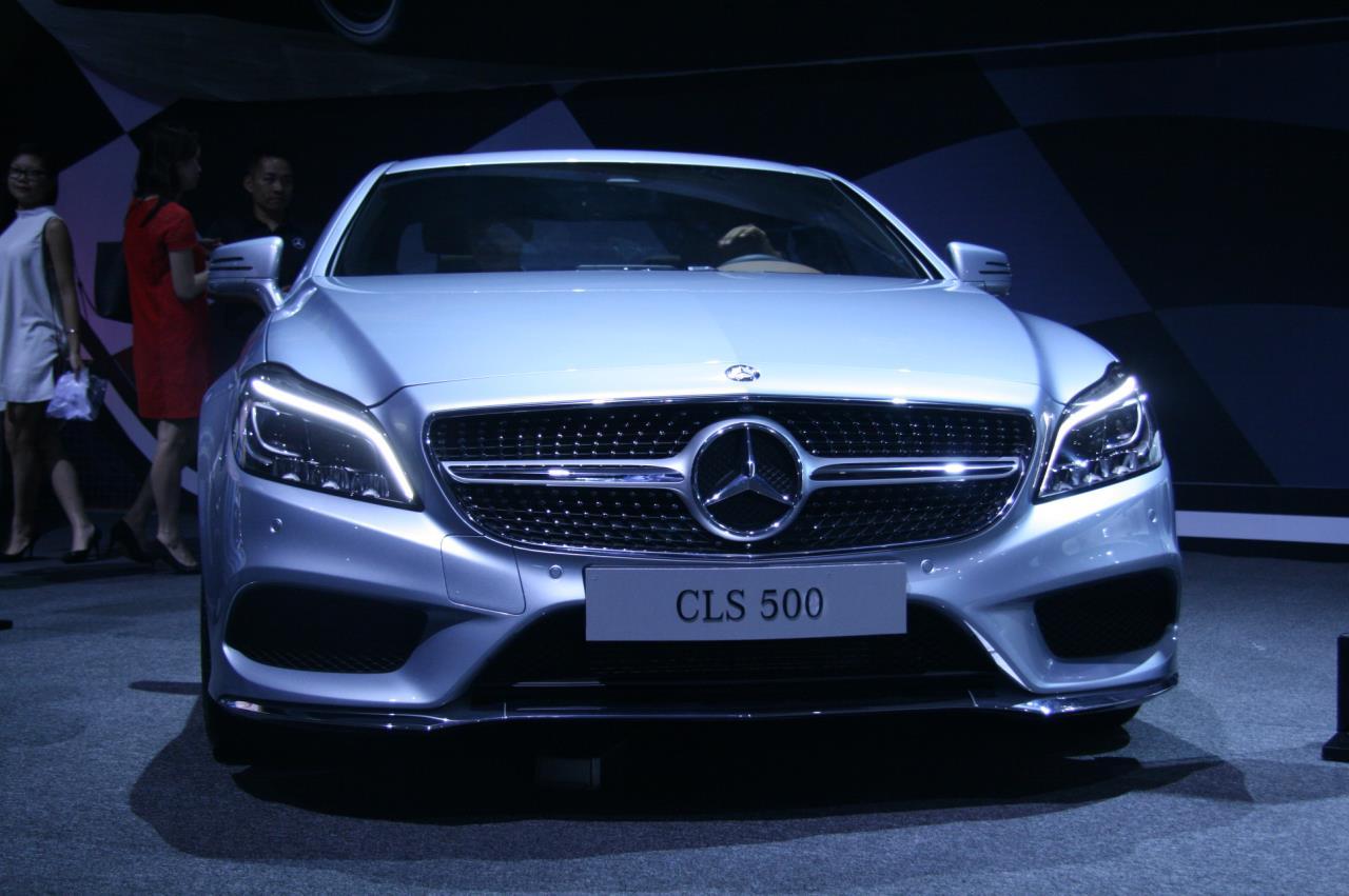 Mercedes-Benz CLS-Class CLS 500 4Matic 2015