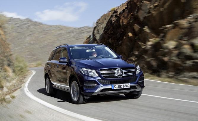 Mercedes GLE hấp dẫn ngay từ khi chào đời