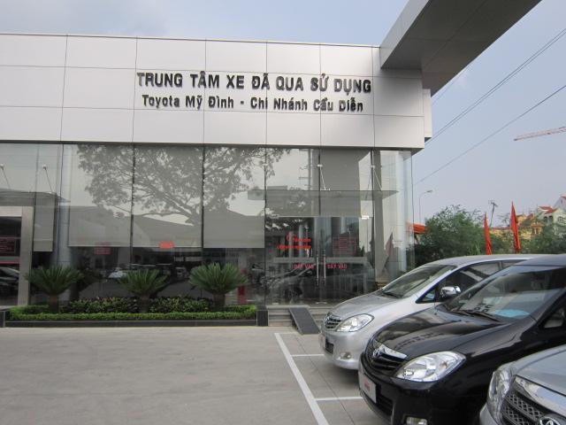 gara oto Toyota Cầu Diễn