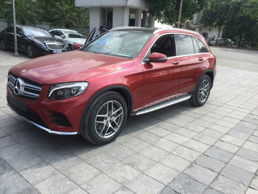 Video Mercedes-Benz GLC-Class GLC 300 4Matic 2016