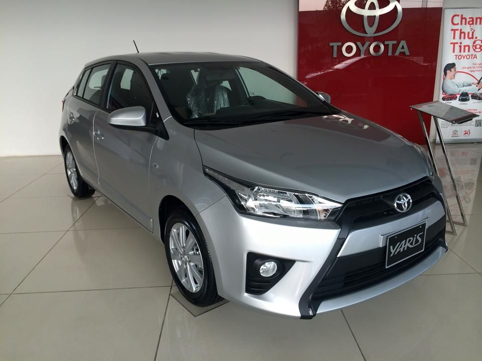 xe Toyota Yaris 1.5E CVT model 2017