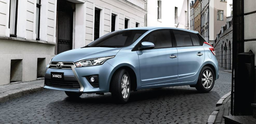 xe Toyota Yaris 1.5G CVT model 2017