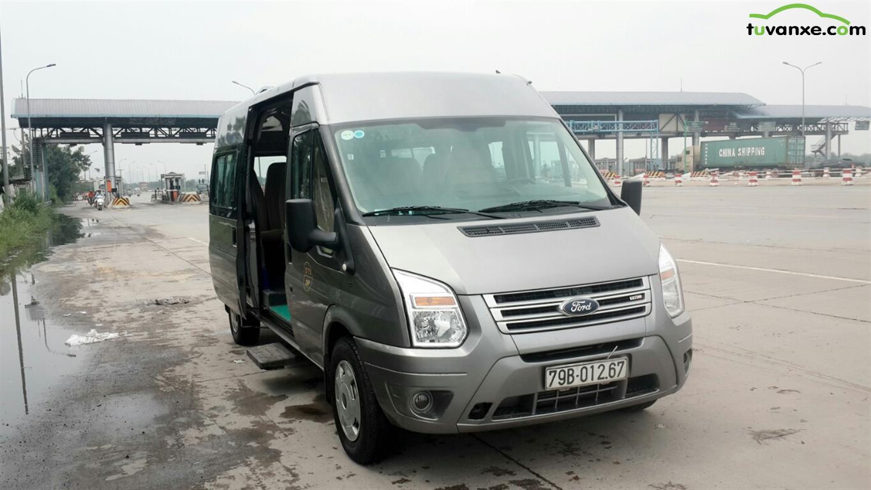 xe Ford Transit 2014