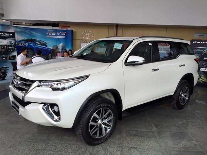Toyota Fortuner 2.7V 4x4 2017