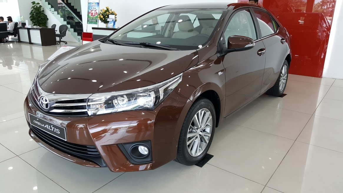 Toyota Corolla Altis 1.8G AT 2017