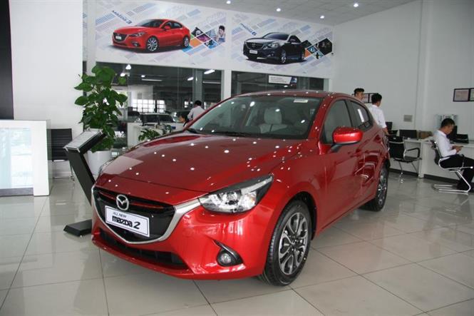 Mazda 2 1.5 hatchback 2017