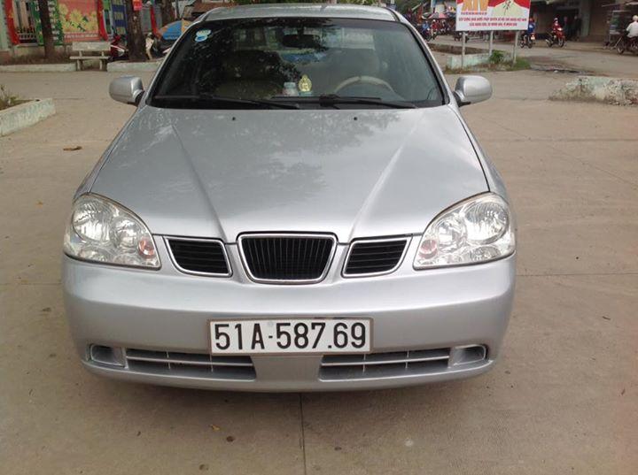 xe Daewoo Lacetti EX 2004