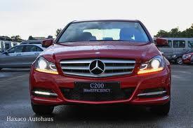 Mercedes-Benz C-Class C200 BE 2012
