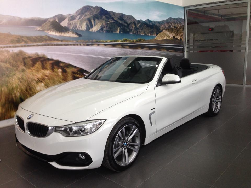 BMW 4 Series  428i Convertible 2014