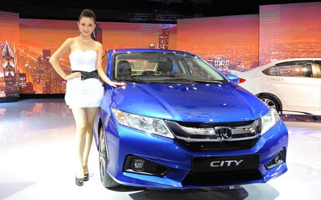 Honda City AT model 2015