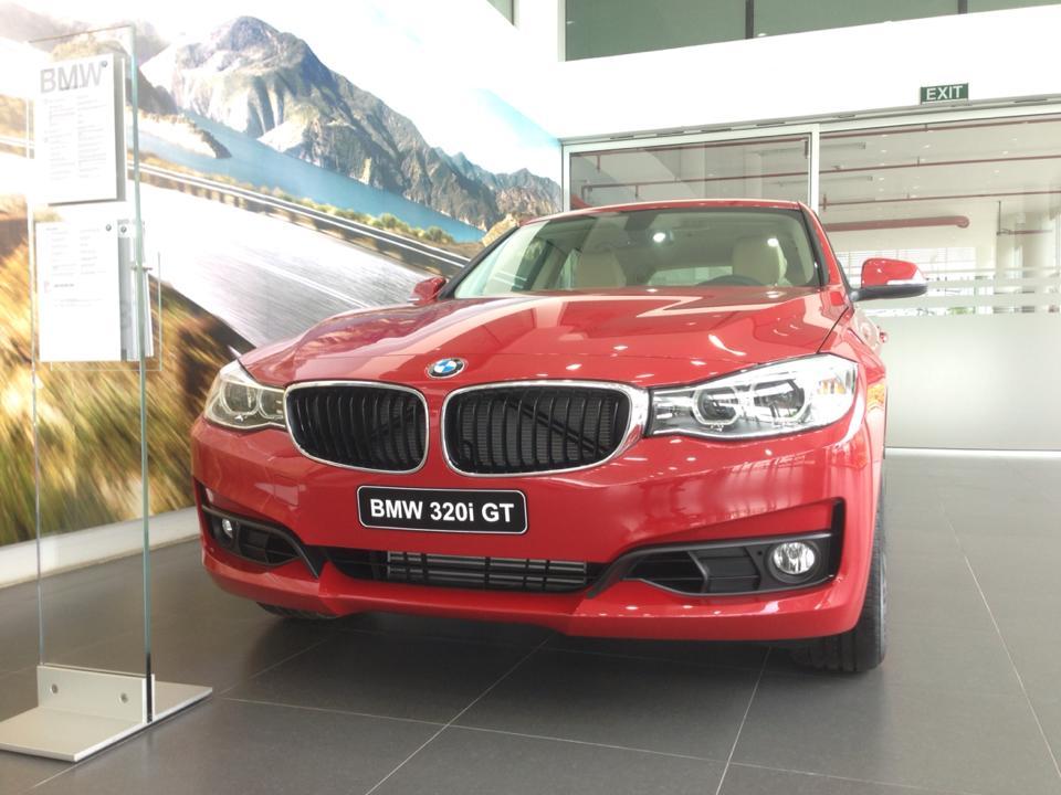 BMW 3 Series 320i GT 2014