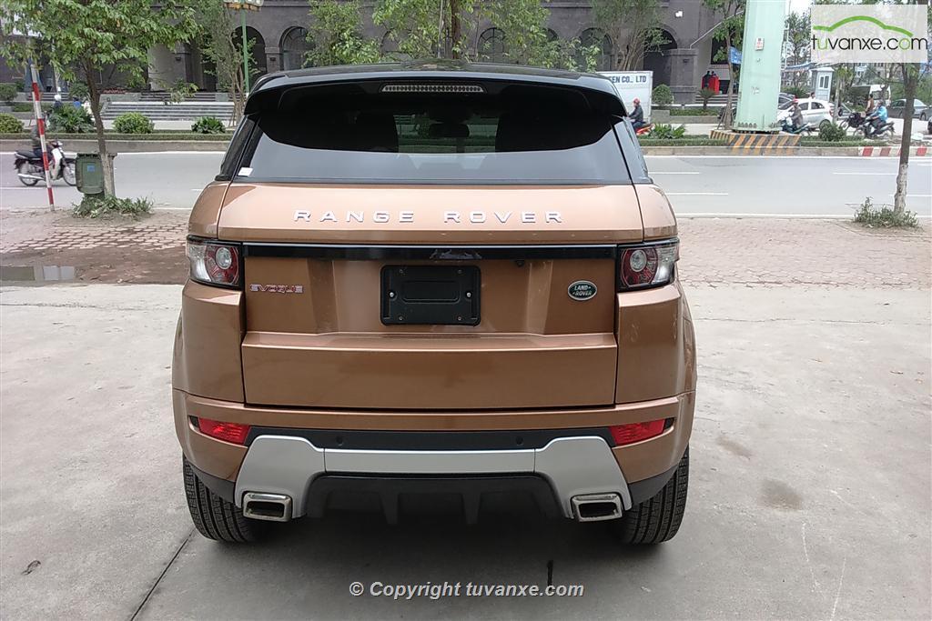 Bán xe Land Rover Range Rover Evoque Dynamic 2014