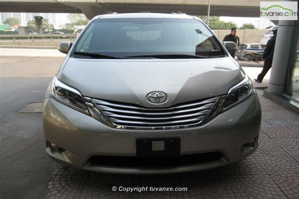 Toyota Sienna Limited AWD 2014