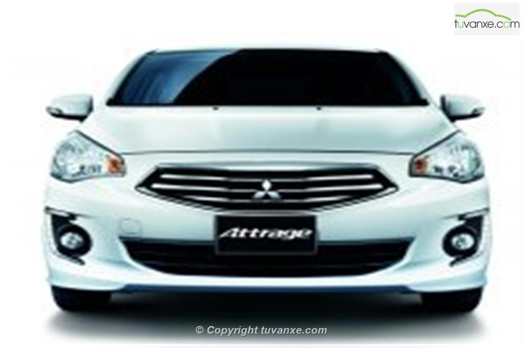 Mitsubishi Attrage CVT 2014