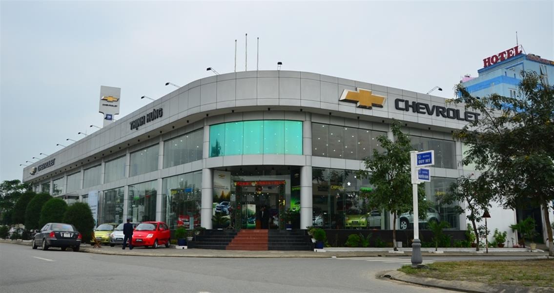 dai ly oto Chevrolet Đà Nẵng