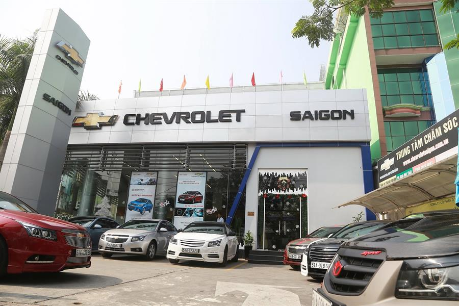 dai ly oto Chevrolet Sài Gòn