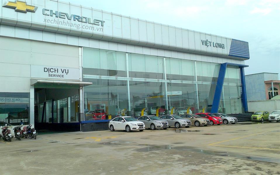 dai ly oto Chevrolet Việt Long