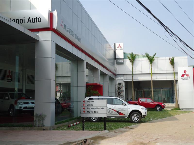 gara oto Mitsubishi Cầu Diễn