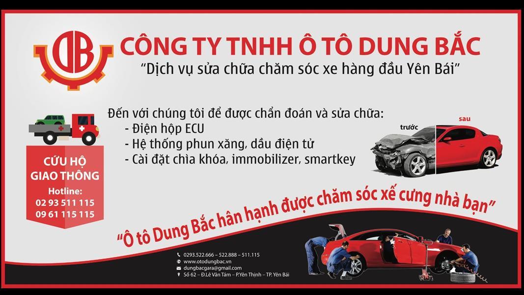 gara oto Gara Dung Bắc - Yên Bái