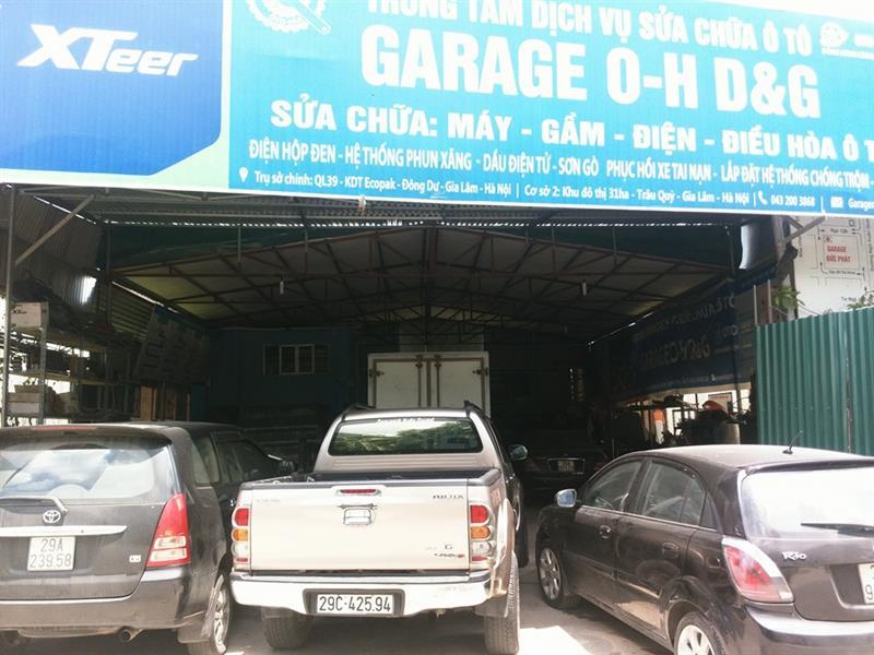 gara oto Trung tâm sửa chữa ô tô OH DG