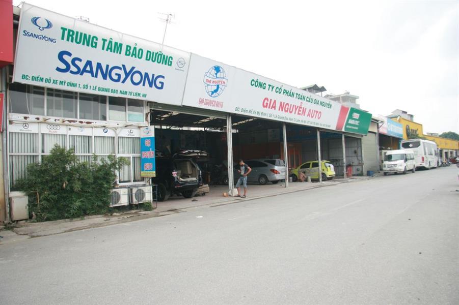 gara oto Gara Gia Nguyễn