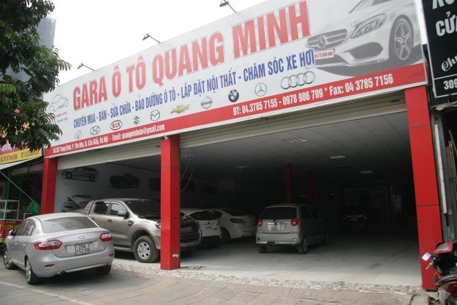 gara oto Gara Quang Minh
