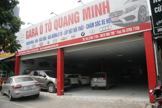 anh dai ly Gara Quang Minh