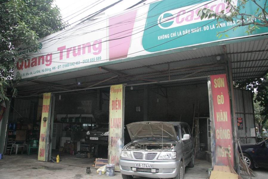 gara oto Gara Quang Trung