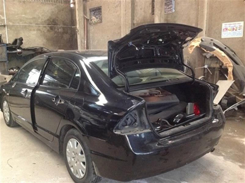 Sơn quây cả xe Honda Civic