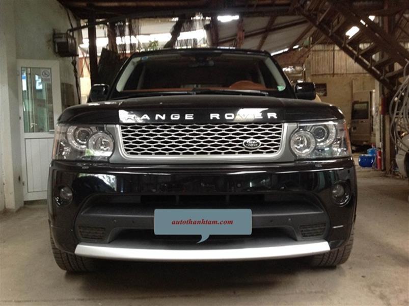 Sơn xe Range Rover