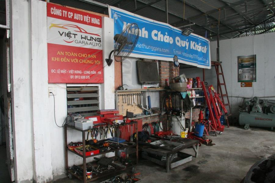 anh dai ly Gara Auto Việt Hưng