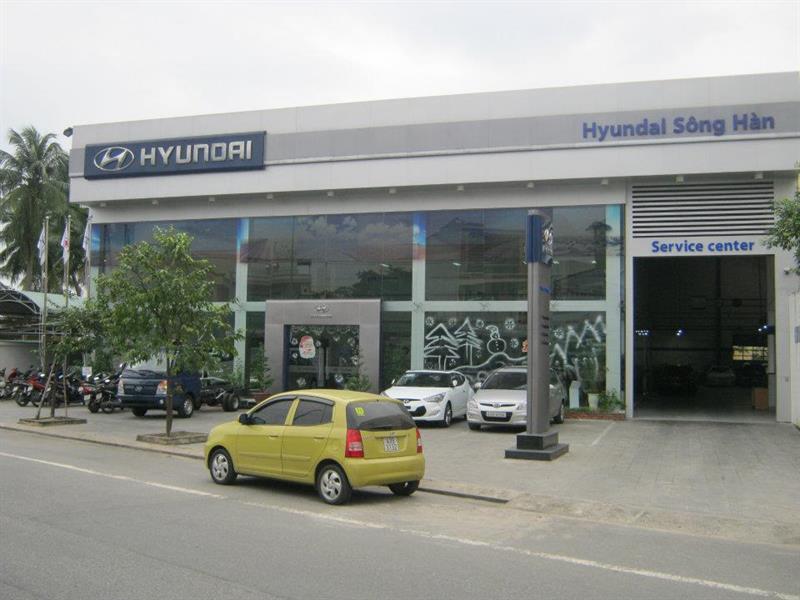 dai ly oto Hyundai Sông Hàn