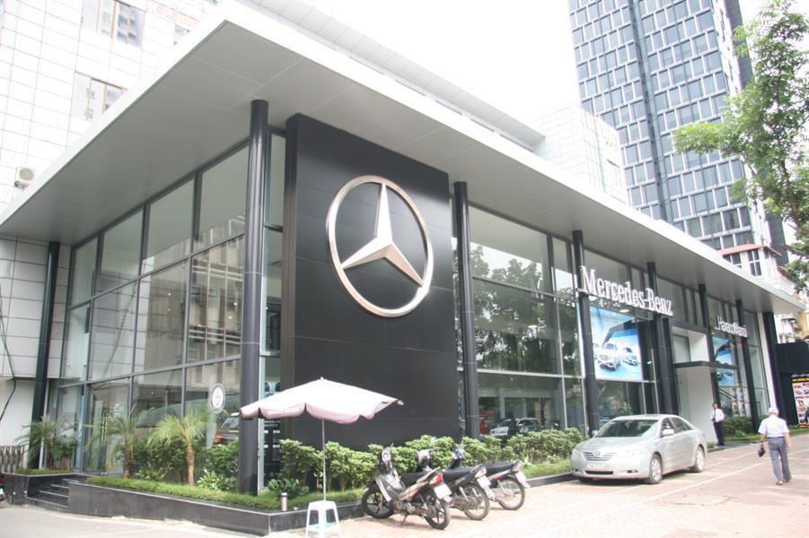 anh dai ly Mercedes Haxaco Hà Nội