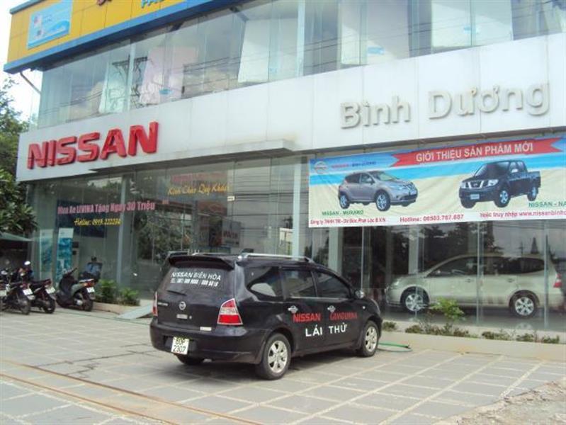 anh dai ly Nissan Bình Dương