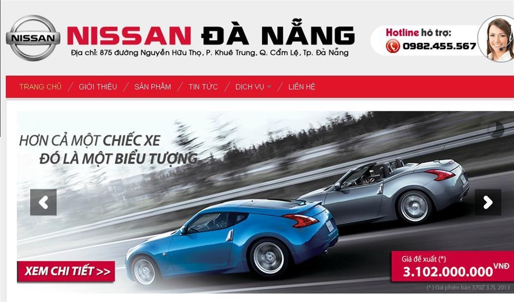 anh dai ly Nissan Đà Nẵng