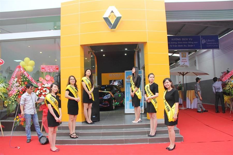 dai ly oto Renault Sài Gòn