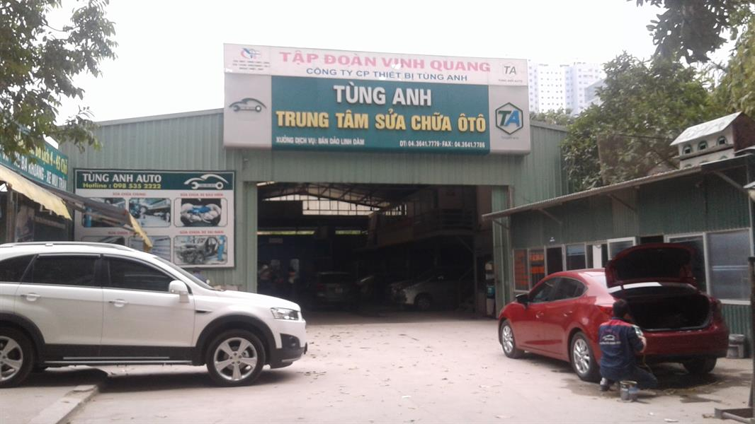 gara oto Gara Tùng Anh