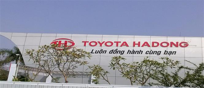 anh dai ly Toyota Hà Đông