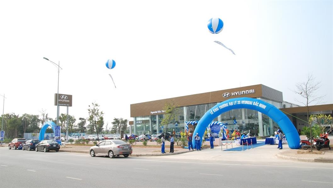 gara oto Hyundai Bắc Ninh