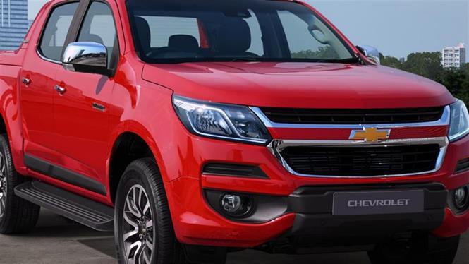 Ảnh Chevrolet Colorado High Country 2.8 AT 4x4 model 2017