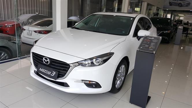 Ảnh Mazda 3 1.5 sedan 2018