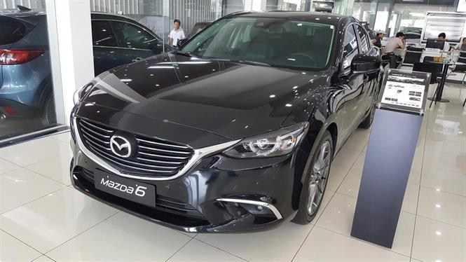 Ảnh Mazda 6 2.5 Premium 2018