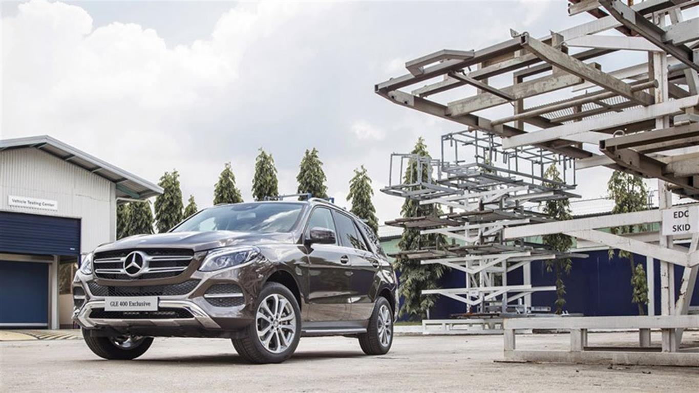 Mercedes-Benz GLE-Class GLE 400 4Matic Exclusive 2016