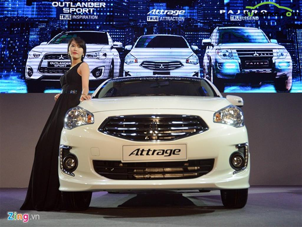 Mitsubishi Attrage CVT 2016