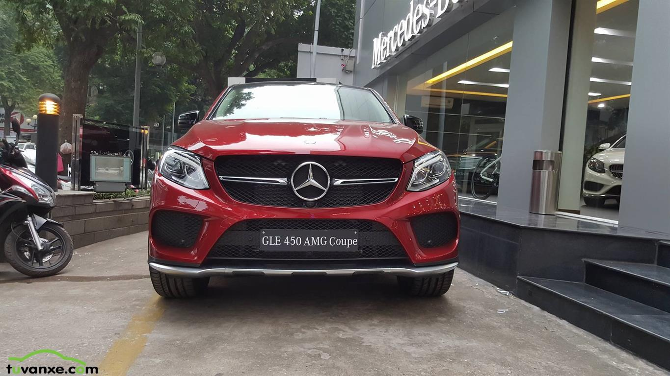 Mercedes-Benz GLE-Class GLE 450 AMG 4Matic Coupe 2015